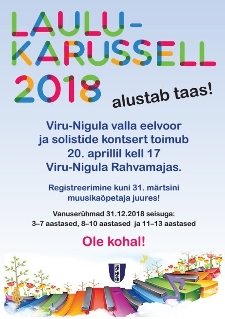Laulukarusell 2018